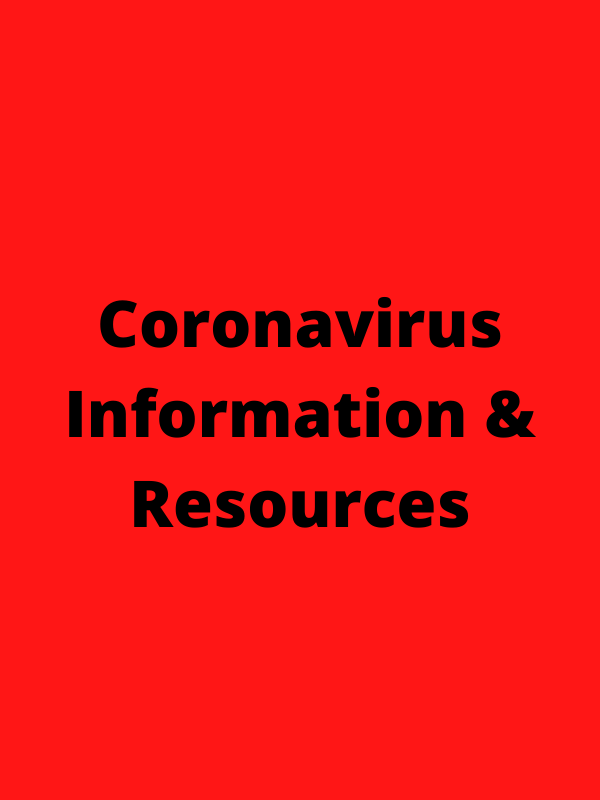 Coronavirus Information and Resources Default