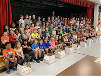 Army Vet Colondona Visits Connetquot Second Graders