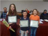 February Students of the Month Recognized by Chamber