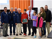JFK Fifth Grader Wins Knights of Columbus Hoops Contest 3