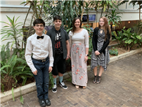 Four from EIHS Recite at Italian Poetry Contest