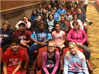 Middle Schoolers Experience 'The Lightning Thief'