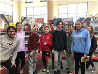 Middle Schoolers Enjoy Literary Fundraiser