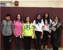 MS Math League Competes in Challenging Tournament