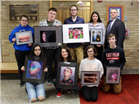 Nine from HS Chosen for College Art Show