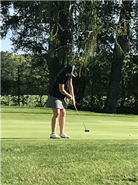 Girls Golf Team Plays at County Tournament 2