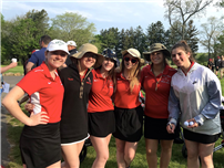 Lady Redmen Finish Seventh Overall in Counties