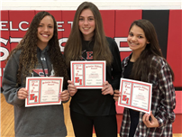 Winter Athletes Honored at HS