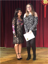 Eighth-Grader Wins at Social Harmony Writing Contest 2