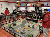 East Islip HS tech students push the robotics envelope