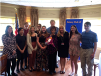 Rotarians Honor High School's Interact Club