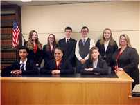 Mock Trial Team Makes Semifinals at Law Day Event