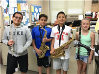 Four RCK Musicians Perform Anthem for Field Day