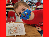 "Connetquot students engineer stable ""snow forts"" with marshmallows"